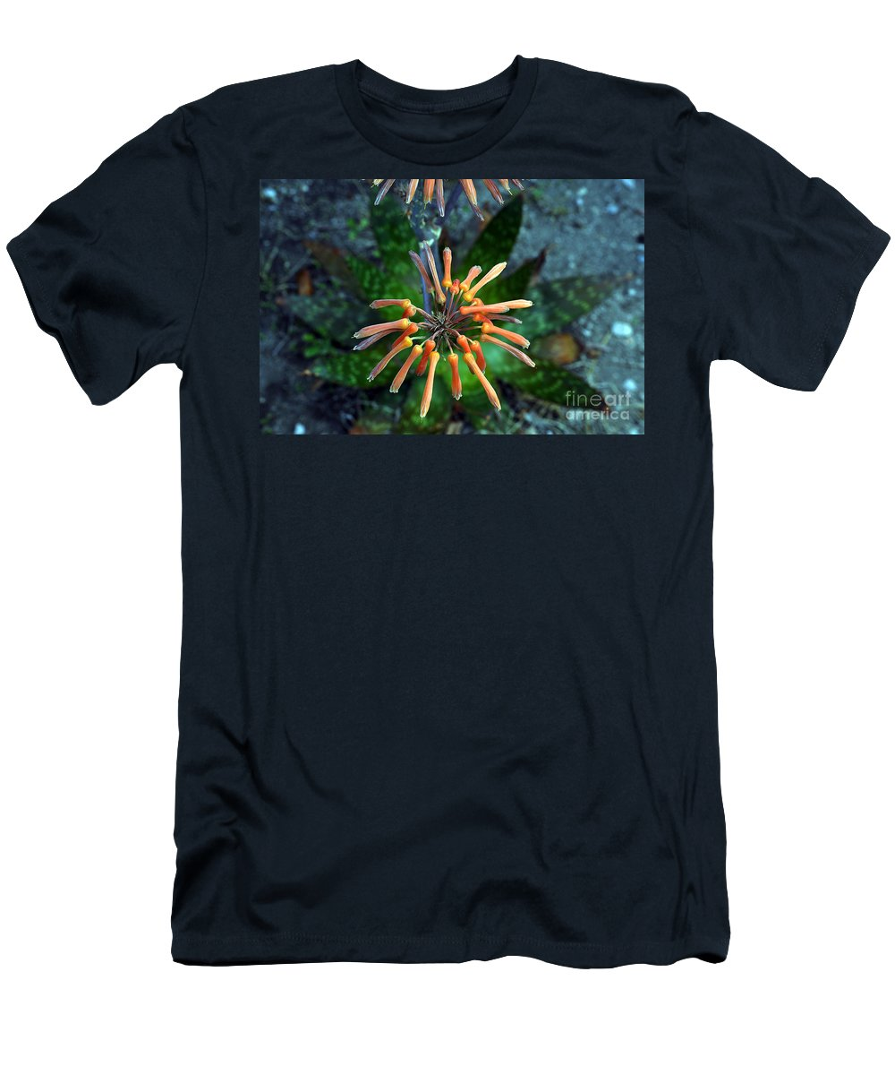 Clay Men's T-Shirt (Athletic Fit) featuring the photograph Aloe Vera by Clayton Bruster