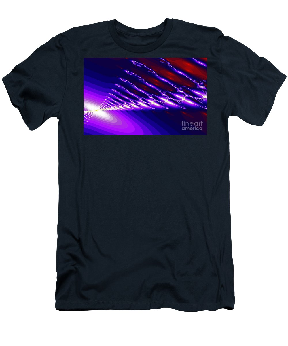 Clay Men's T-Shirt (Athletic Fit) featuring the digital art Ambient Noise by Clayton Bruster