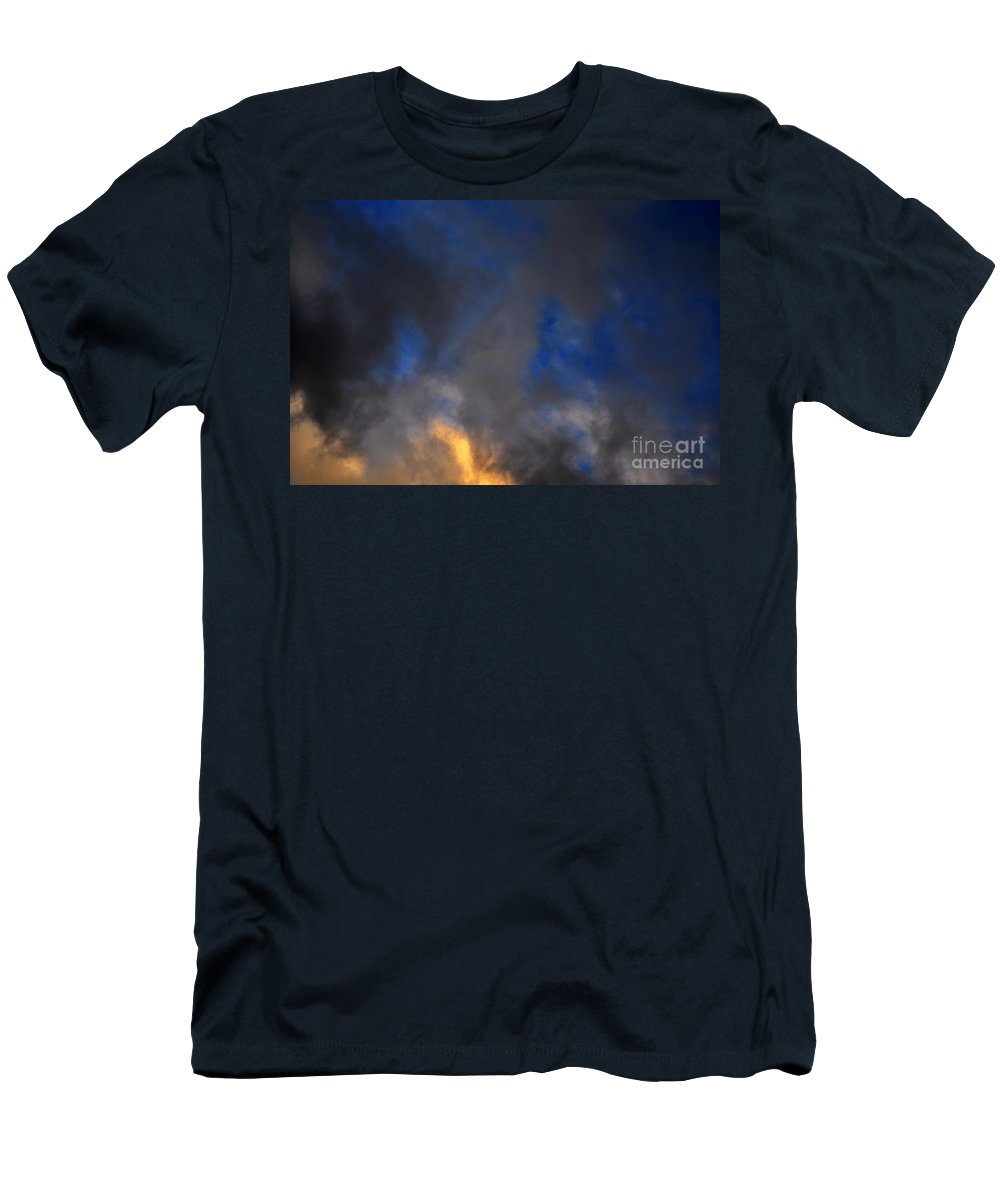 Clay T-Shirt featuring the photograph Angry Sky by Clayton Bruster