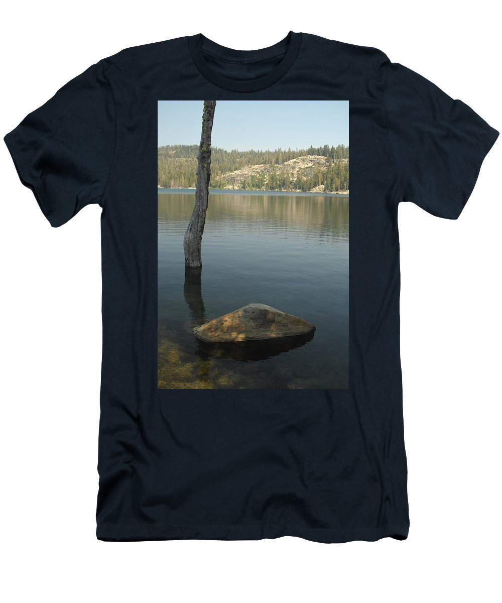 Landscape Men's T-Shirt (Athletic Fit) featuring the photograph Bliss by Donna Blackhall