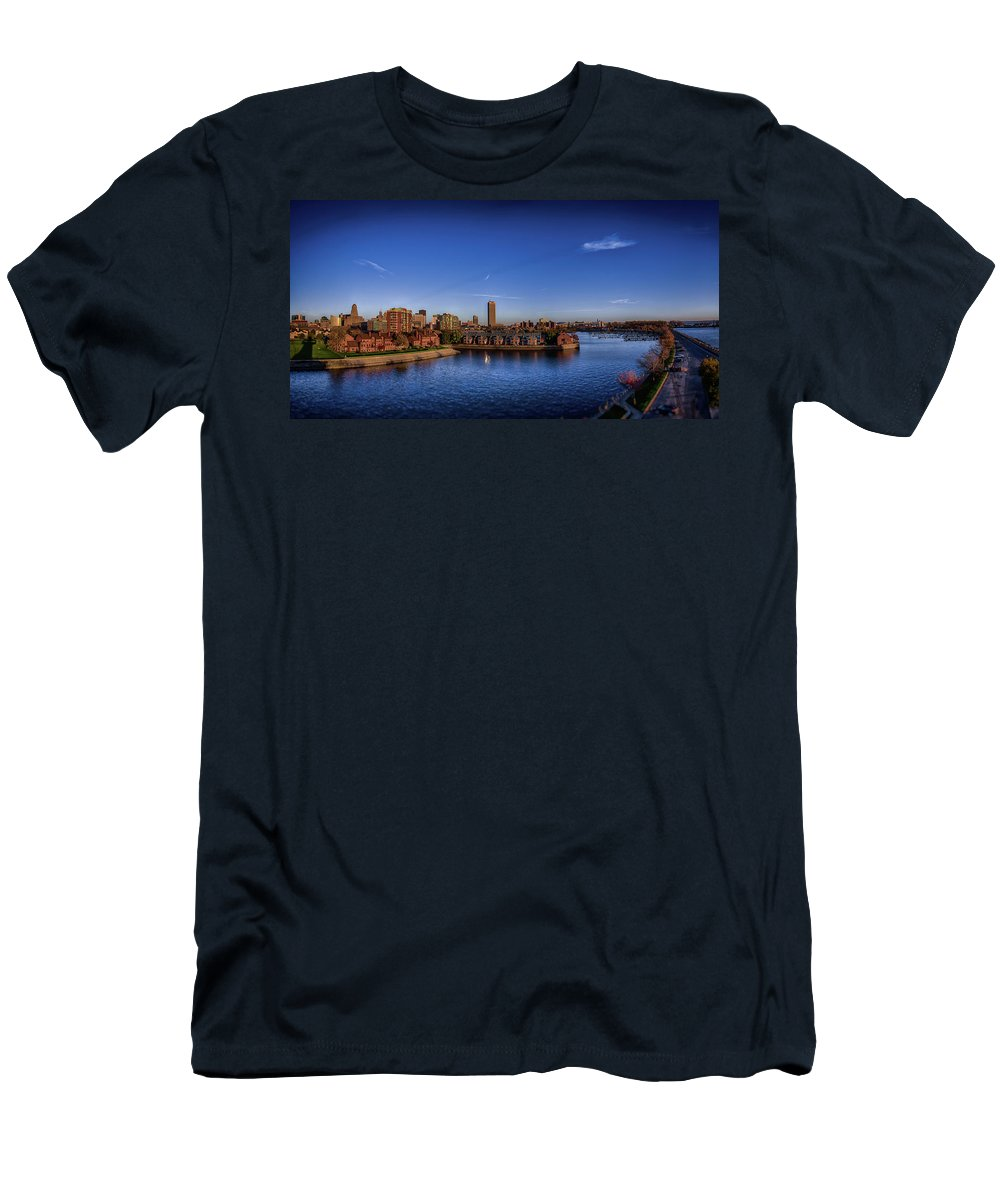 Buffalo Men's T-Shirt (Athletic Fit) featuring the photograph Buffalo New York by Eric Jahn