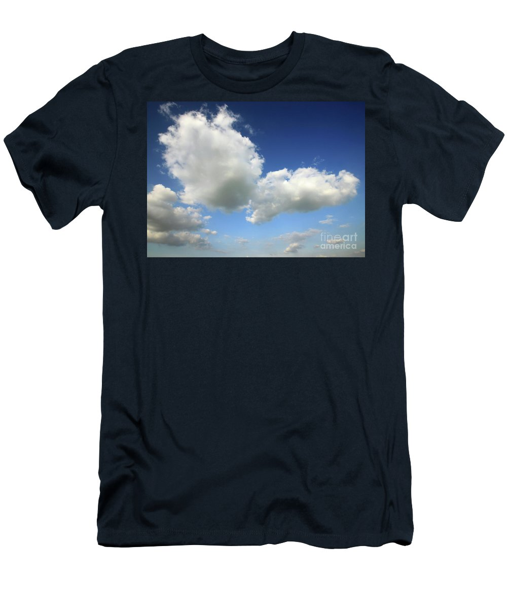 Sky Men's T-Shirt (Athletic Fit) featuring the photograph Butterfly by Deborah Brodie