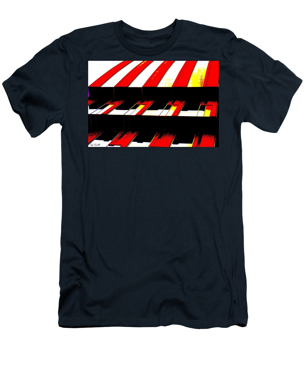 Canopy Couture Men's T-Shirt (Athletic Fit) featuring the photograph Canopy Couture by Ed Smith