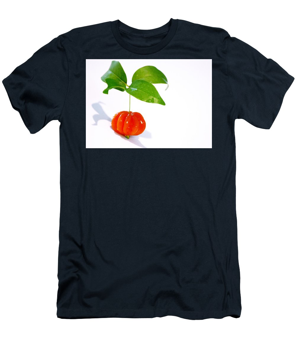 Food Men's T-Shirt (Athletic Fit) featuring the photograph Cherry by Holly Kempe