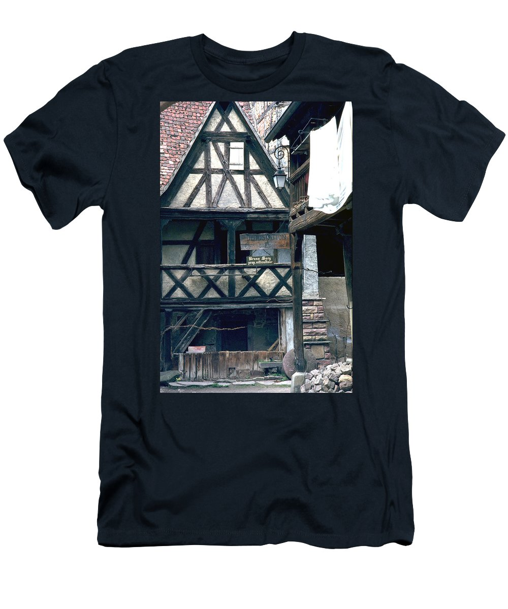 Colmar Men's T-Shirt (Athletic Fit) featuring the photograph Colmar by Flavia Westerwelle