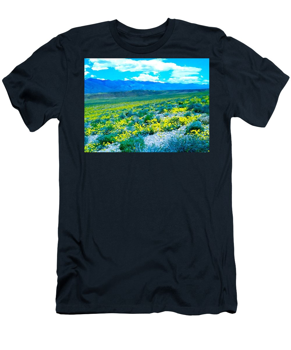 Nature Men's T-Shirt (Athletic Fit) featuring the photograph Color 57 by Pamela Cooper