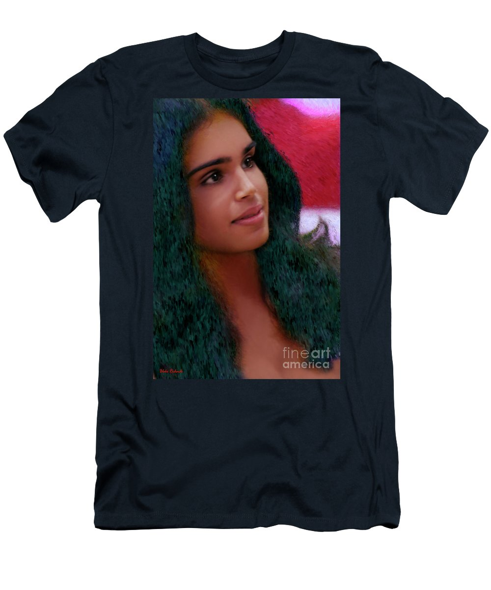 Pretty Girls Men's T-Shirt (Athletic Fit) featuring the photograph Dazzling Beauty by Blake Richards