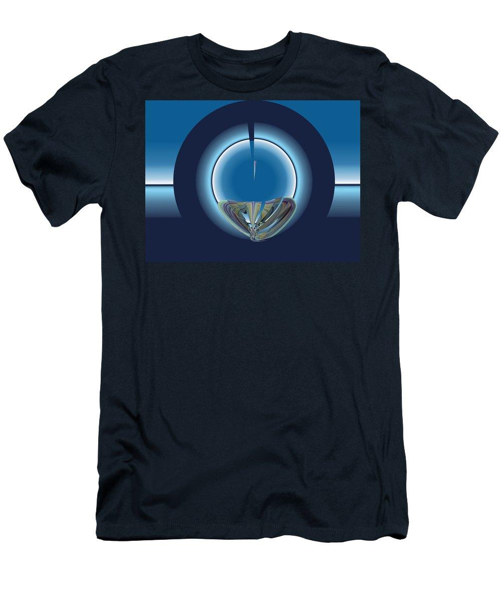 Destination Men's T-Shirt (Athletic Fit) featuring the digital art Destination Within by Tim Allen