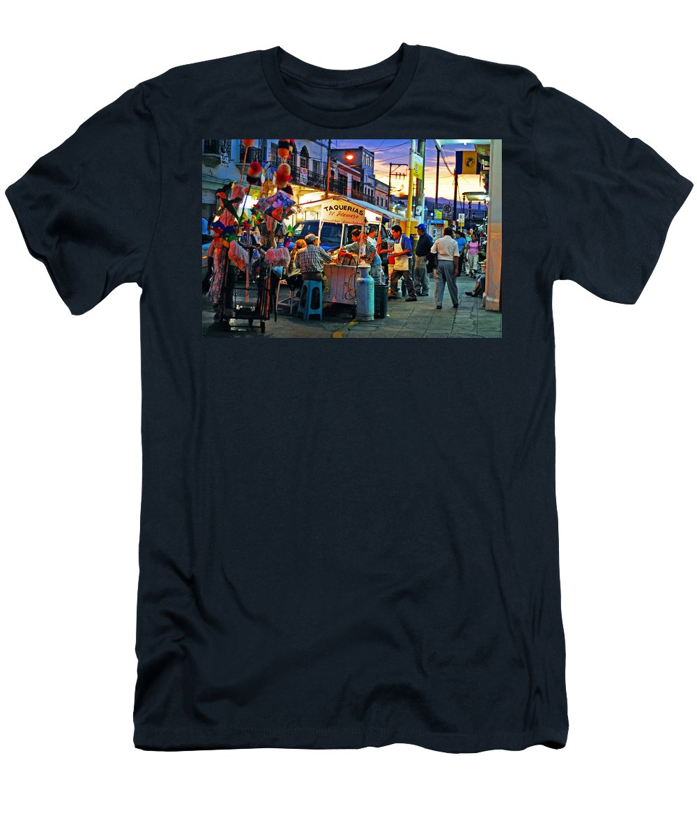 Skip Hunt Men's T-Shirt (Athletic Fit) featuring the photograph El Flamazo by Skip Hunt