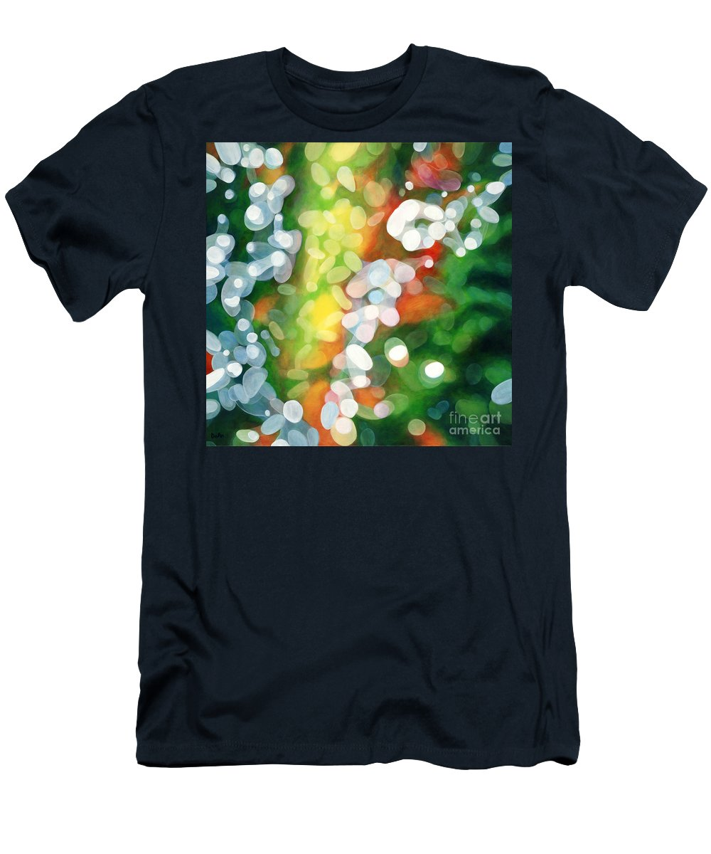 Queen Men's T-Shirt (Athletic Fit) featuring the painting Eriu Queen Of The Emerald Isle by Do'an Prajna - Antony Galbraith