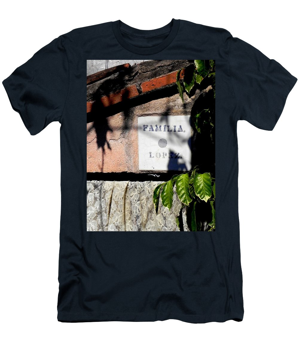 Still Life Men's T-Shirt (Athletic Fit) featuring the photograph Familia Lopez by Christie Starr Featherstone