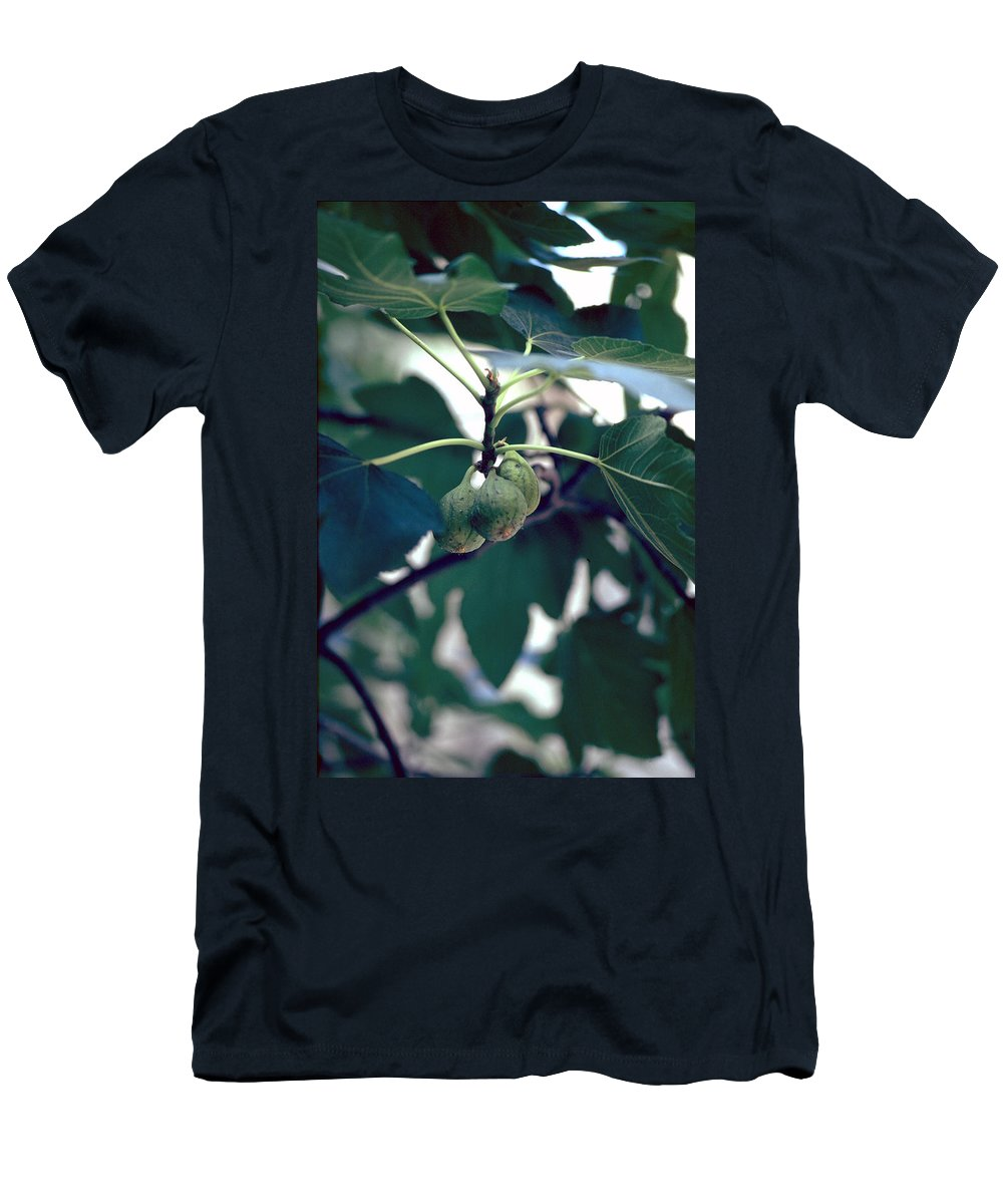 Fig Men's T-Shirt (Athletic Fit) featuring the photograph Fig by Flavia Westerwelle