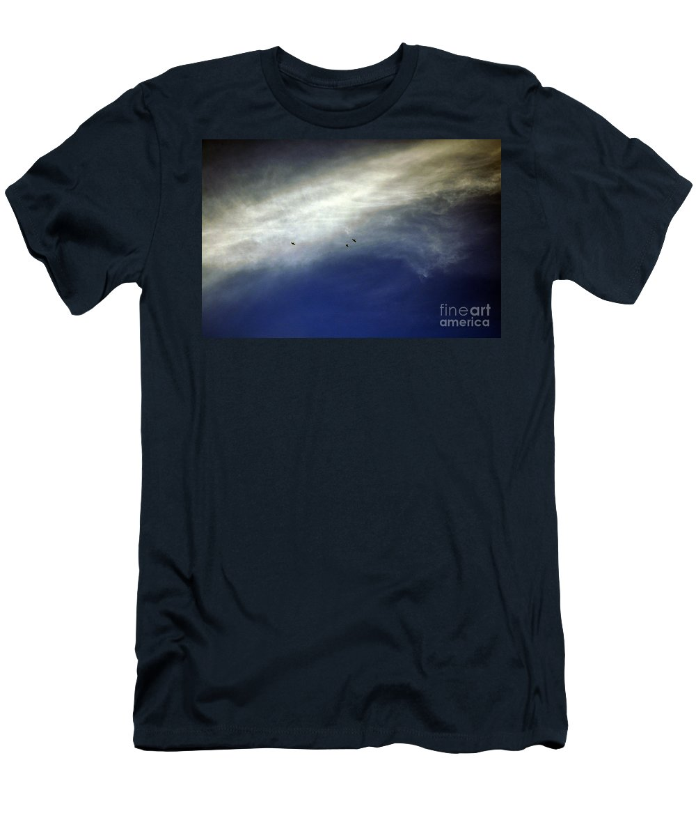 Clay Men's T-Shirt (Athletic Fit) featuring the photograph Flight by Clayton Bruster