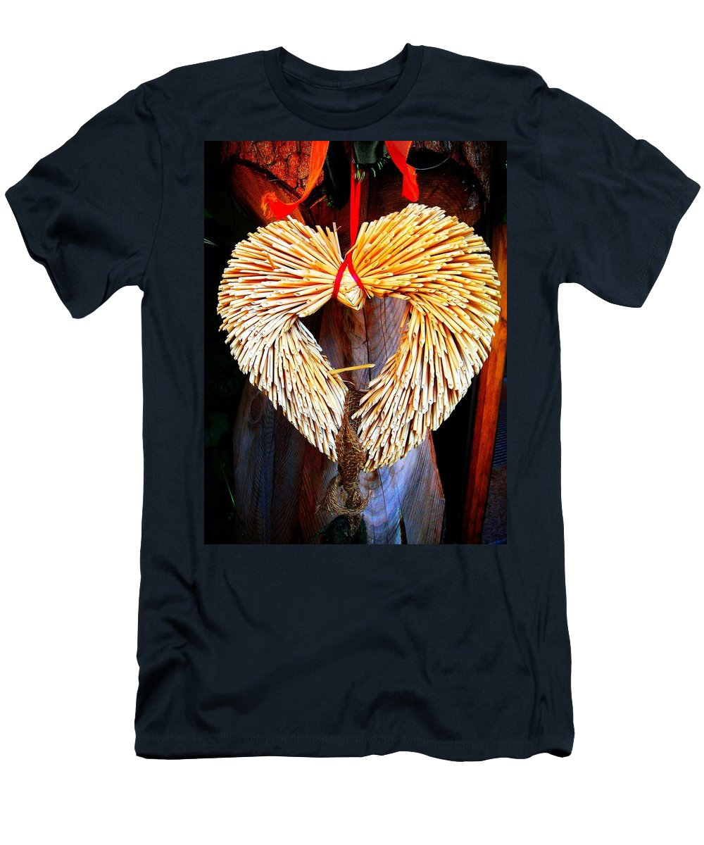 Heart Men's T-Shirt (Athletic Fit) featuring the photograph For You ... by Juergen Weiss