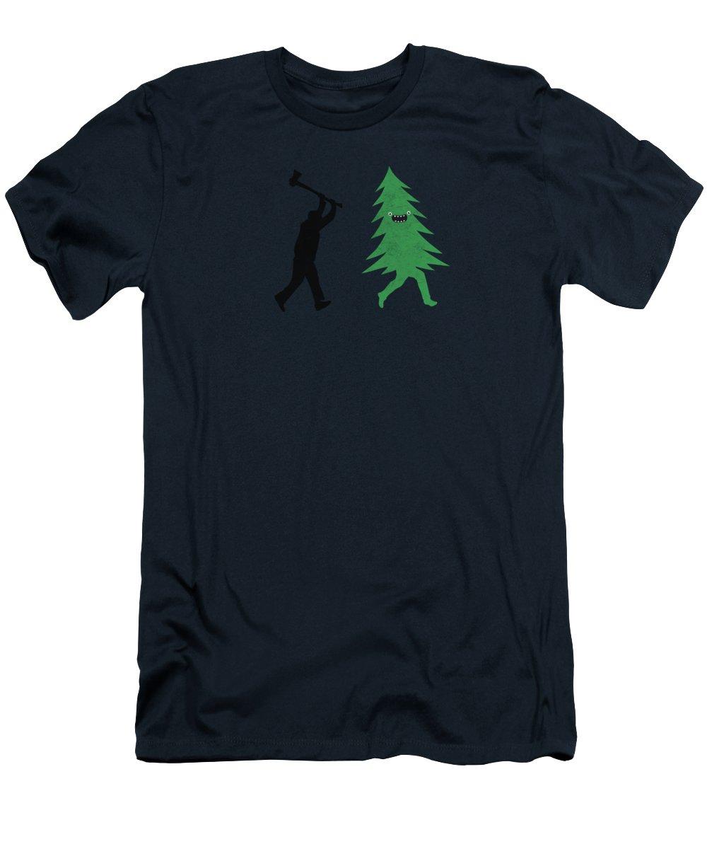 Winter Fun Digital Art T-Shirts