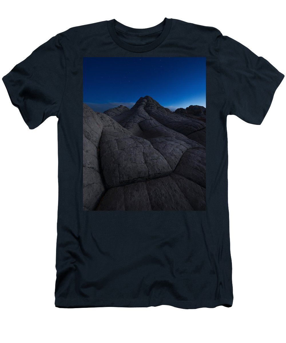 Arizona Men's T-Shirt (Athletic Fit) featuring the photograph Half-light by Dustin LeFevre