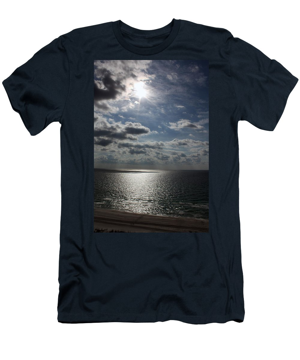 Sun Men's T-Shirt (Athletic Fit) featuring the photograph Healing Light by Tamivision