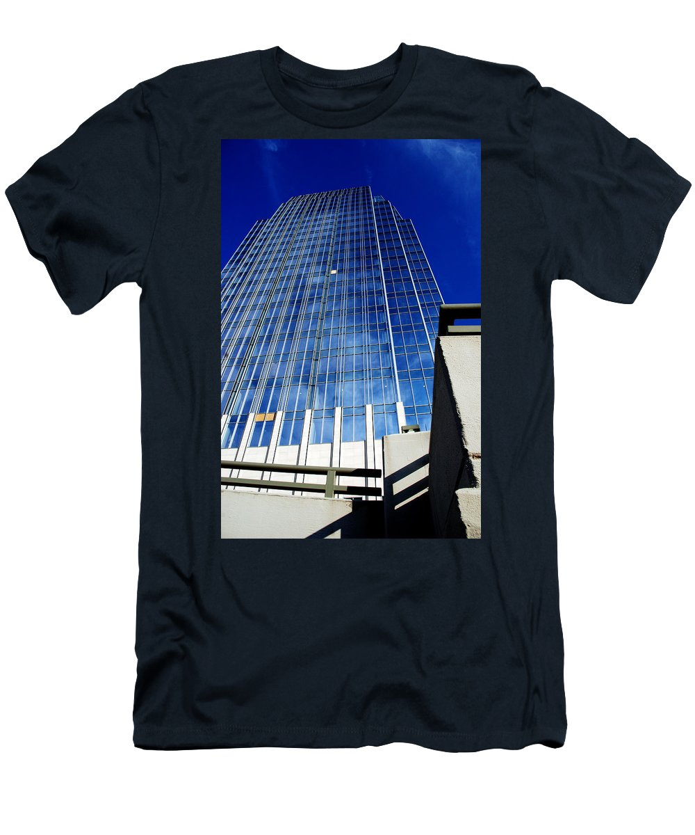 Nashville Men's T-Shirt (Athletic Fit) featuring the photograph High Up To The Sky by Susanne Van Hulst