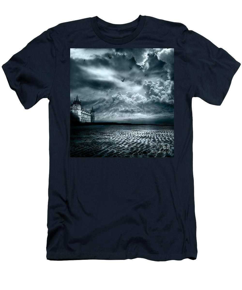 Beach Men's T-Shirt (Athletic Fit) featuring the photograph Home by Jacky Gerritsen