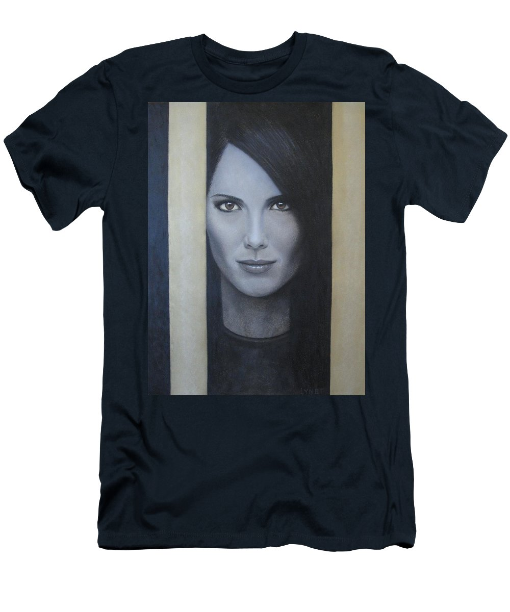 Hope Men's T-Shirt (Athletic Fit) featuring the painting Hope by Lynet McDonald