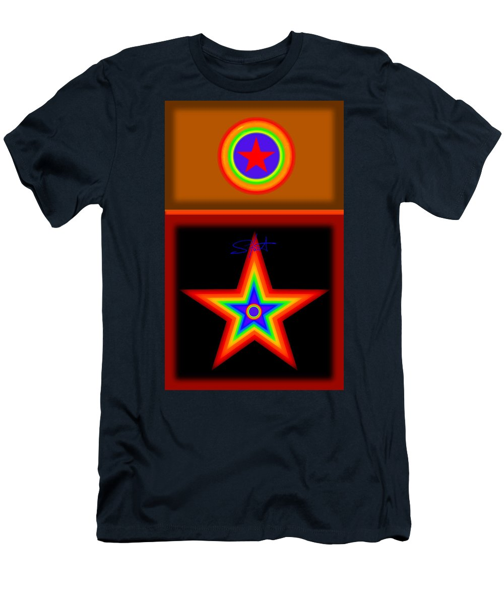 Classical Men's T-Shirt (Athletic Fit) featuring the painting Hot Circus Stuff by Charles Stuart
