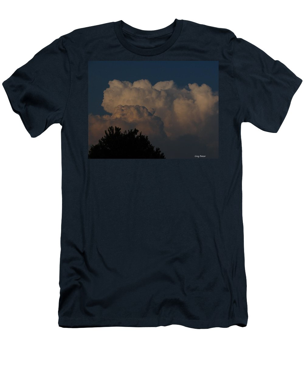 Patzer Men's T-Shirt (Athletic Fit) featuring the photograph I Want To Ride by Greg Patzer
