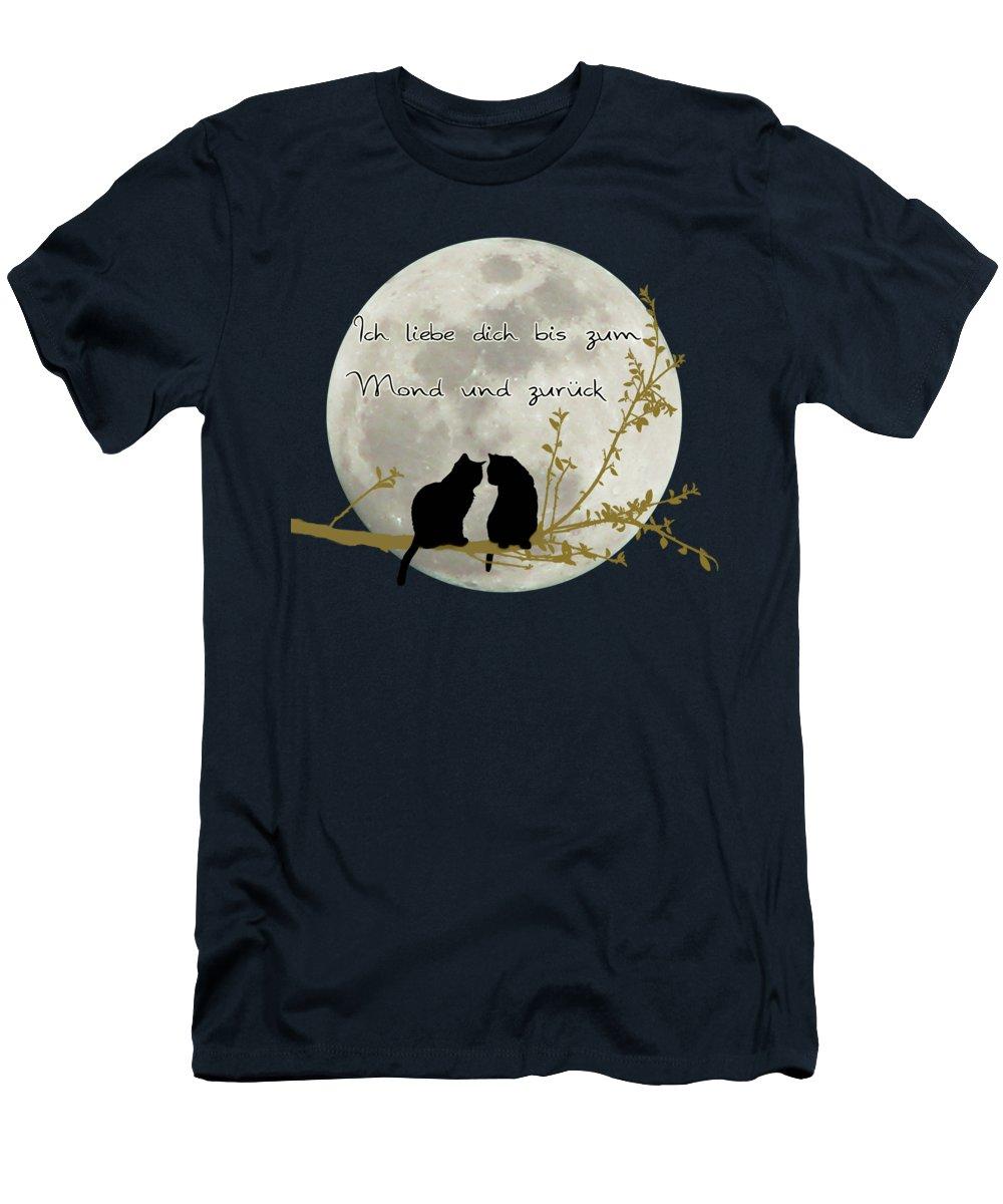 Faszinierend Ich Liebe Dich Bis Zum Mond Das Beste Von T-shirts
