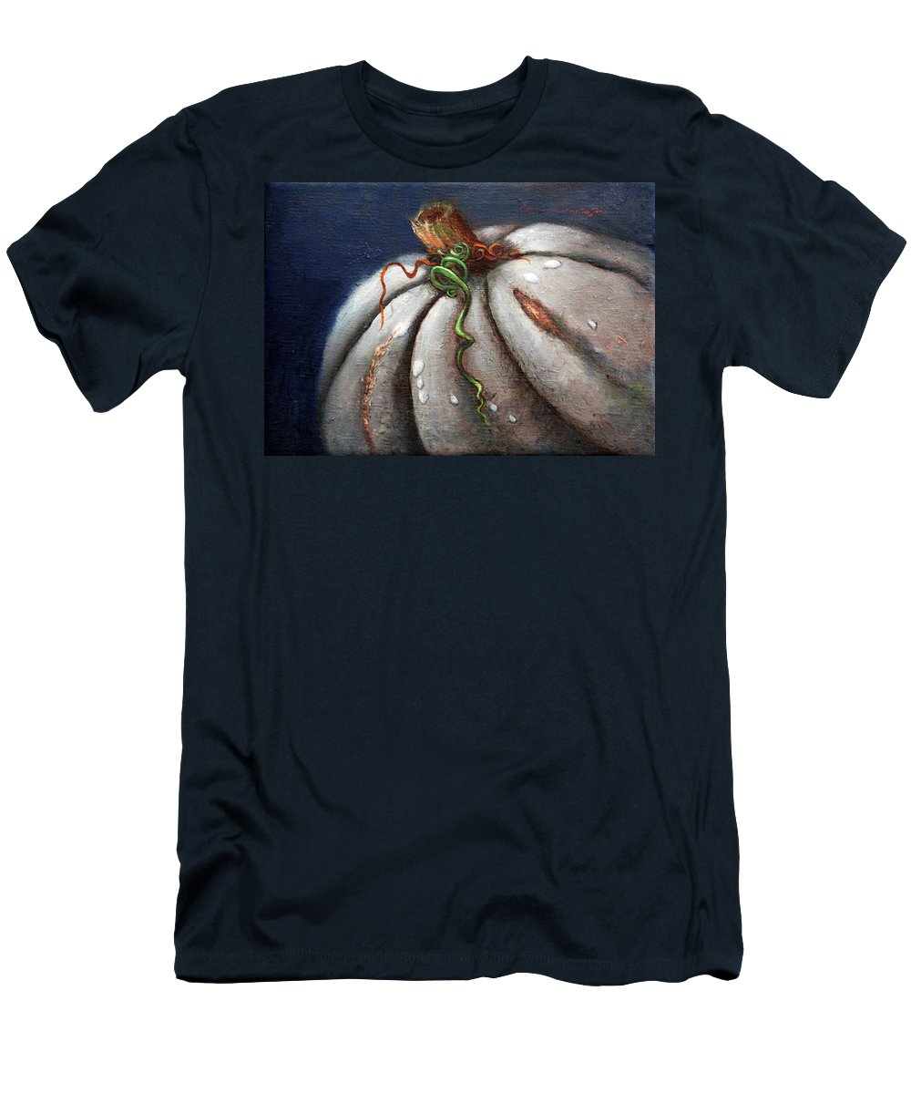 Still Life Men's T-Shirt (Athletic Fit) featuring the painting Kissed By The Moon by Portraits By NC