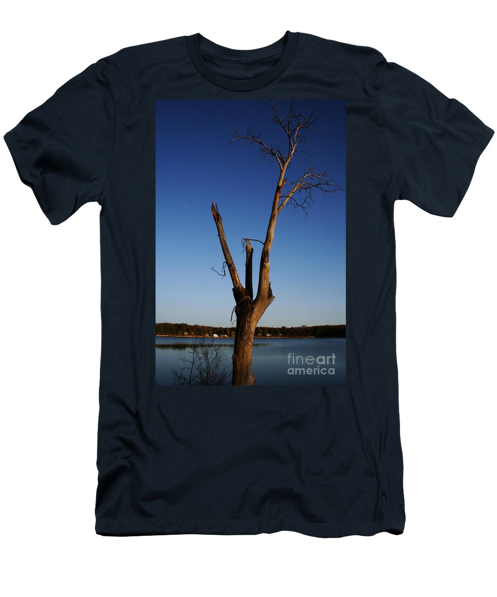 Men's T-Shirt (Athletic Fit) featuring the photograph Living On by Jamie Lynn