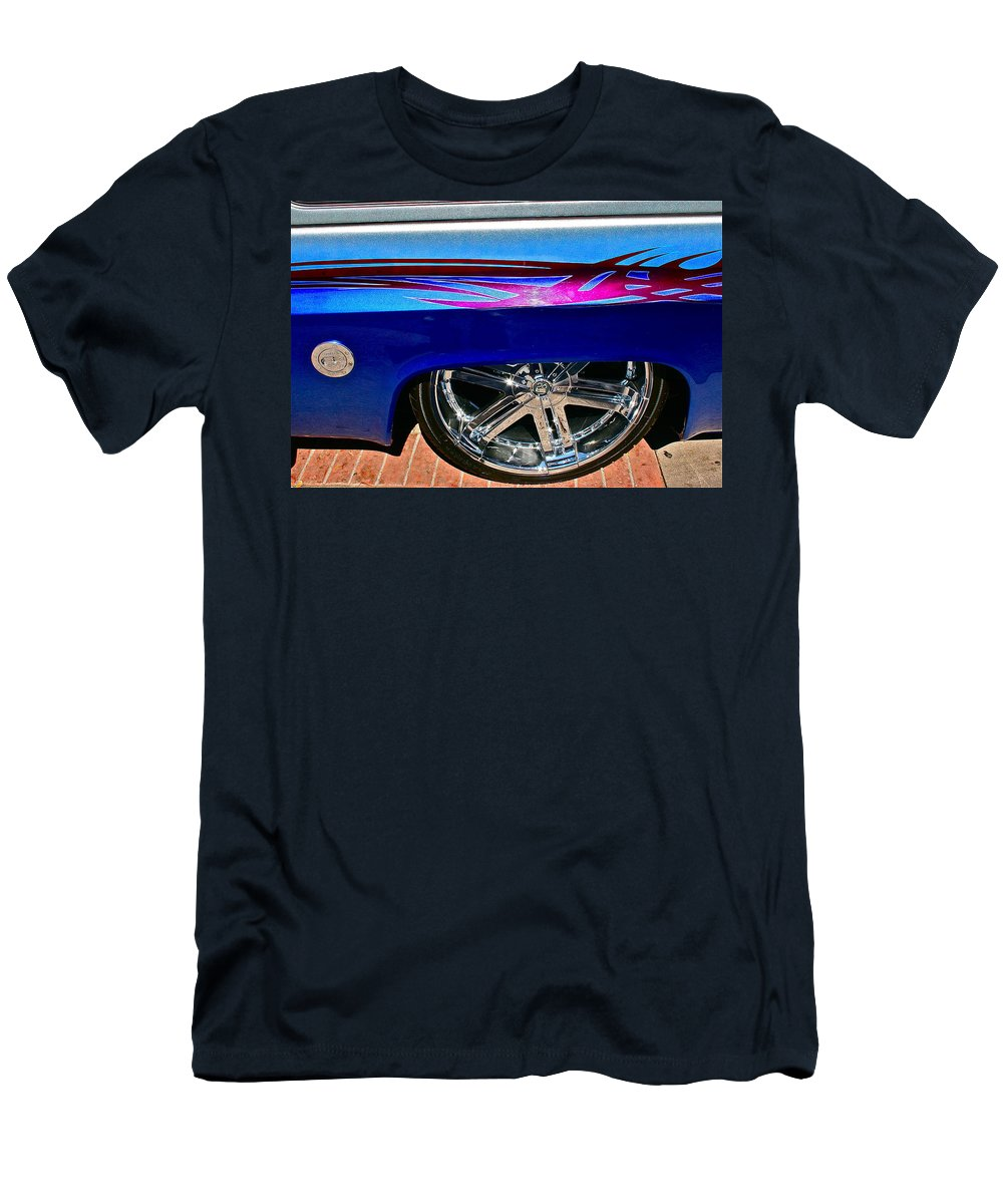 Photograph Men's T-Shirt (Athletic Fit) featuring the photograph Low Profile by Gwyn Newcombe