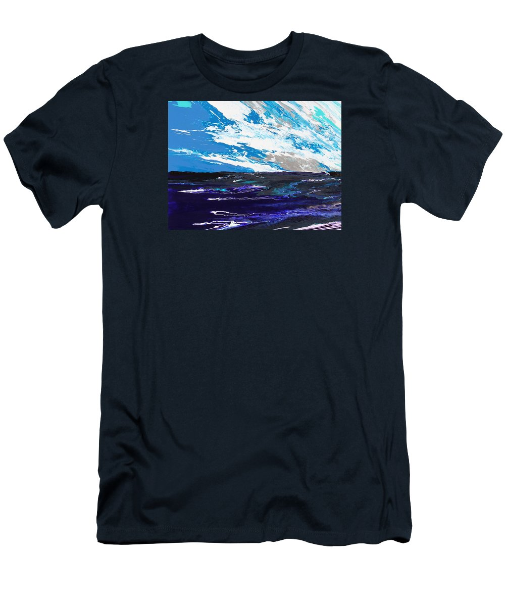 Fusionart Men's T-Shirt (Athletic Fit) featuring the painting Mariner by Ralph White