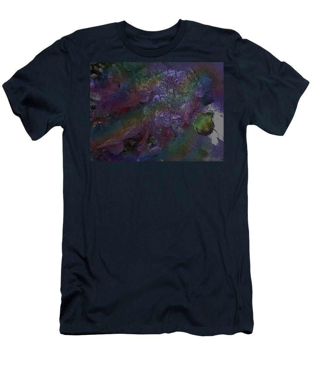 Digital T-Shirt featuring the digital art Metallic Color by J P Lambert