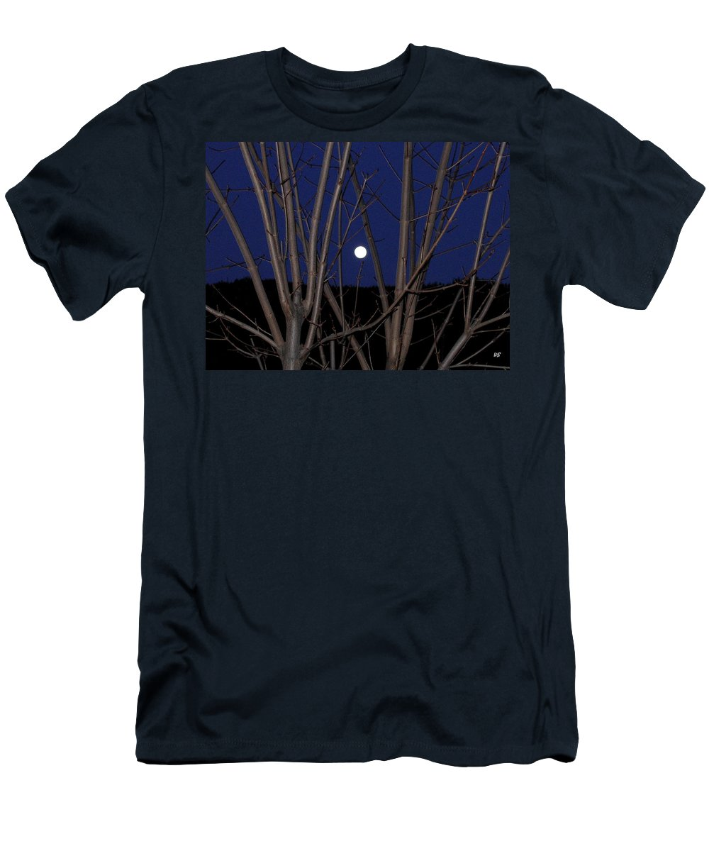 Moon Men's T-Shirt (Athletic Fit) featuring the photograph Moonrise by Will Borden