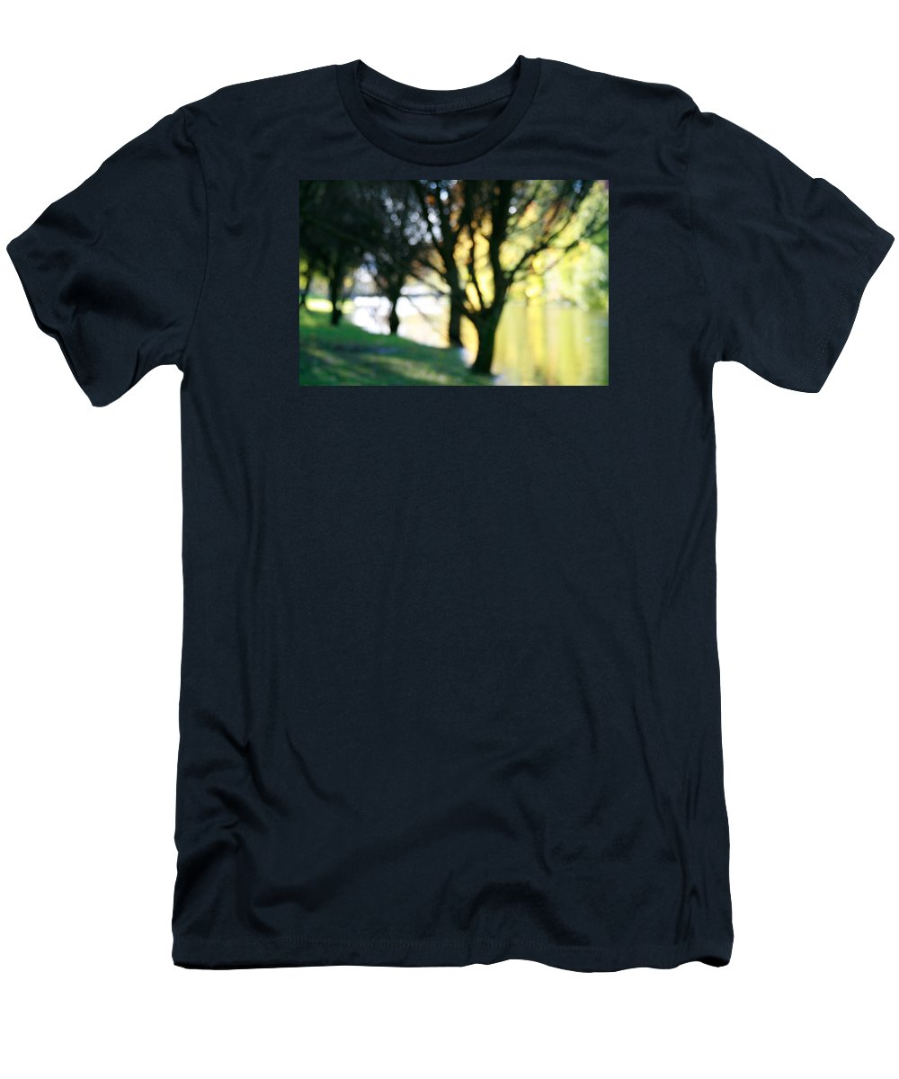 Fall Men's T-Shirt (Athletic Fit) featuring the photograph Mystic Fall by Masha Batkova
