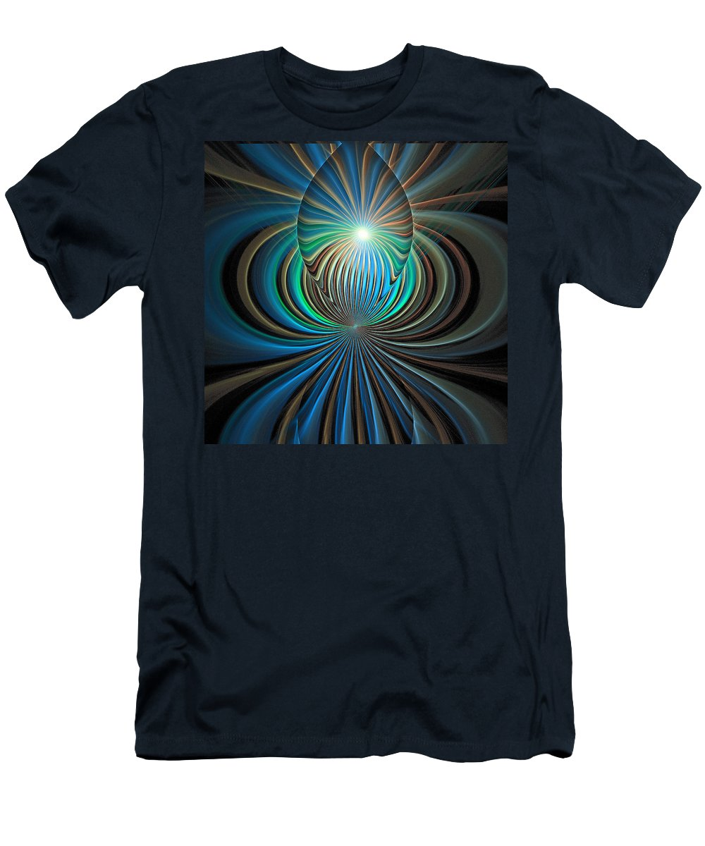 Digital Art T-Shirt featuring the digital art Namaste by Amanda Moore