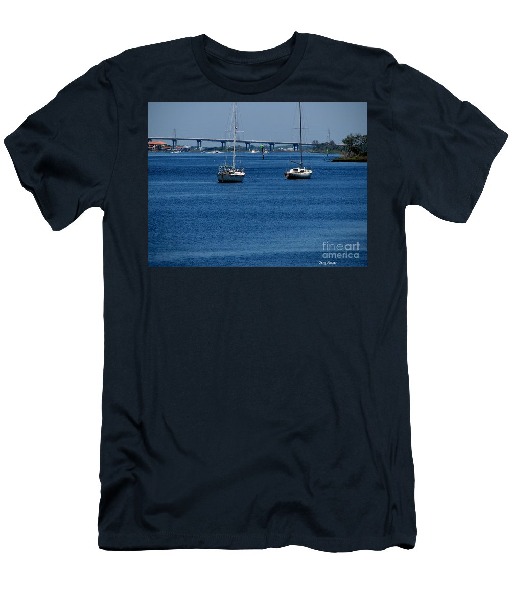 Patzer Men's T-Shirt (Athletic Fit) featuring the photograph No Yard Work by Greg Patzer