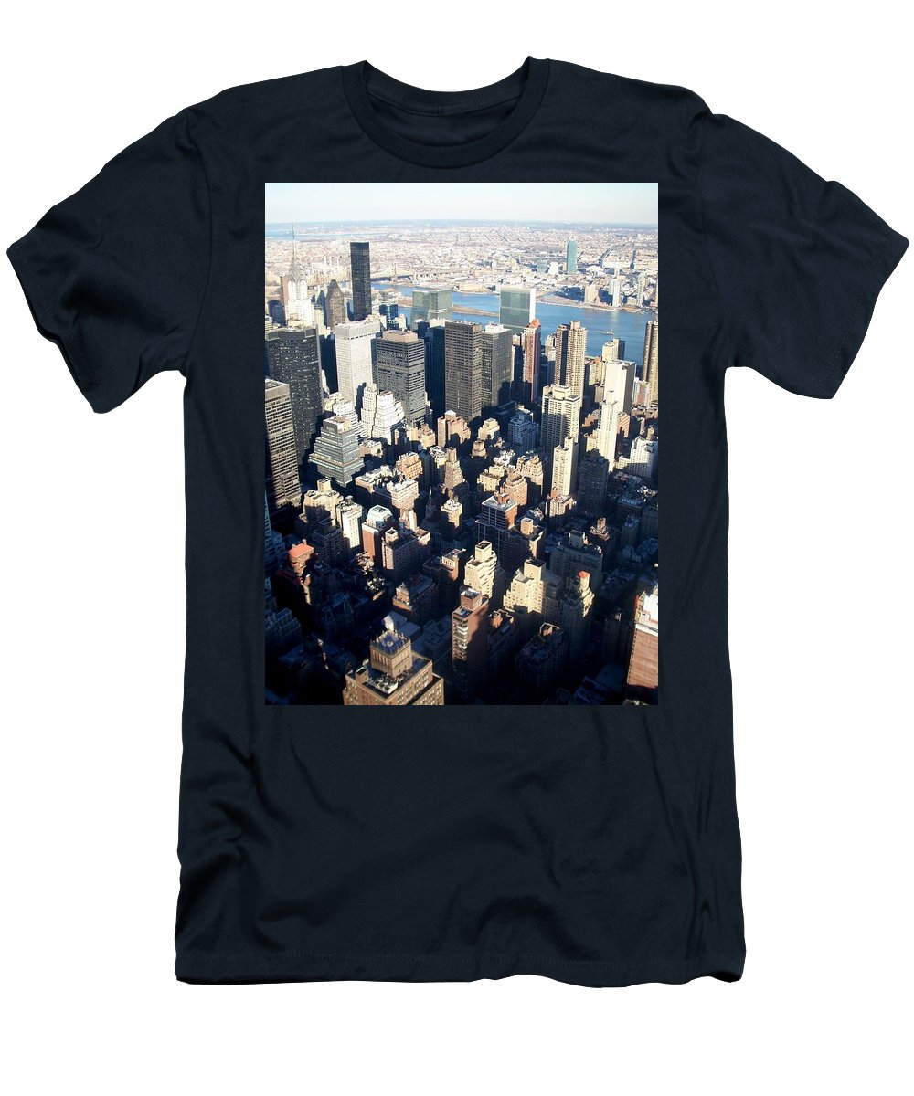 Nyc T-Shirt featuring the photograph Nyc 4 by Anita Burgermeister