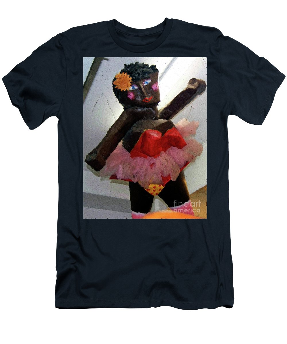 Paper Mache Men's T-Shirt (Athletic Fit) featuring the photograph Oh Baby by Debbi Granruth
