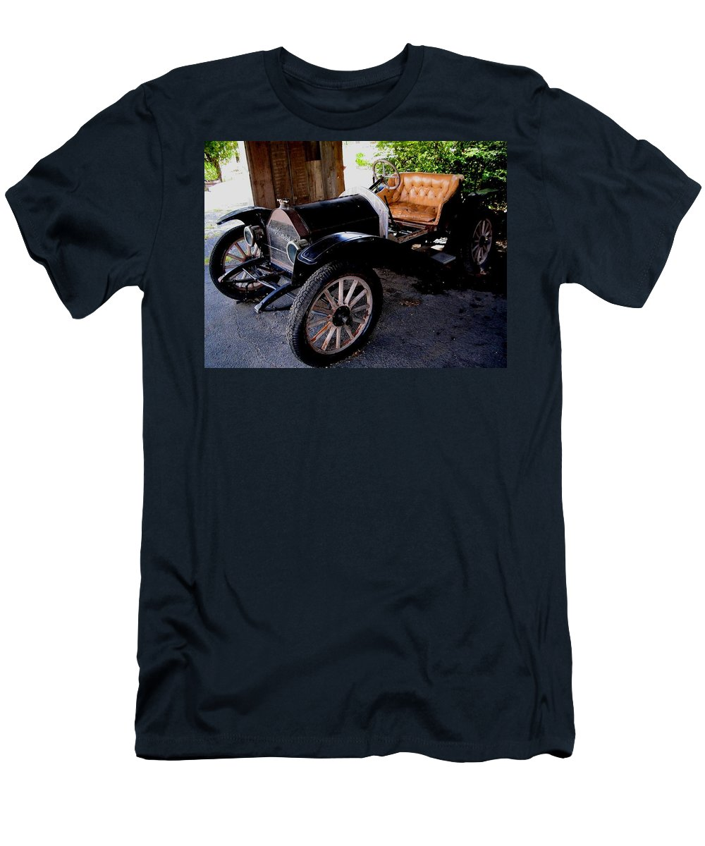 Car Men's T-Shirt (Athletic Fit) featuring the photograph Old Timer by April Patterson