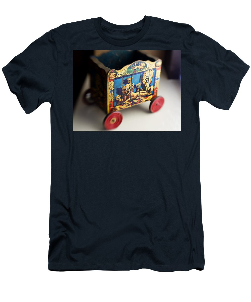 Americana Men's T-Shirt (Athletic Fit) featuring the photograph Old Toy by Marilyn Hunt