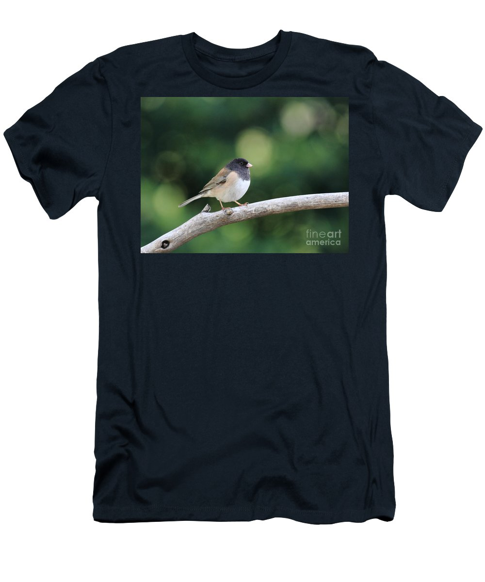 Wildlife T-Shirt featuring the photograph Oregon Junco by Wingsdomain Art and Photography
