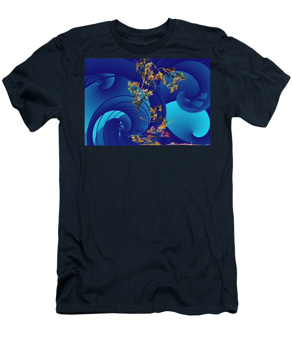 Fantasy Men's T-Shirt (Athletic Fit) featuring the digital art Orphaned by David Lane