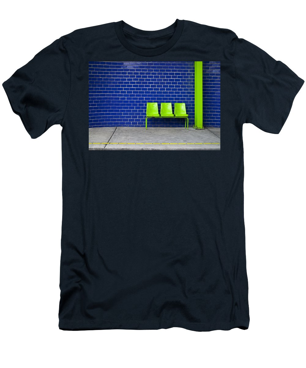 Green Men's T-Shirt (Athletic Fit) featuring the photograph Paradaxochi by Skip Hunt