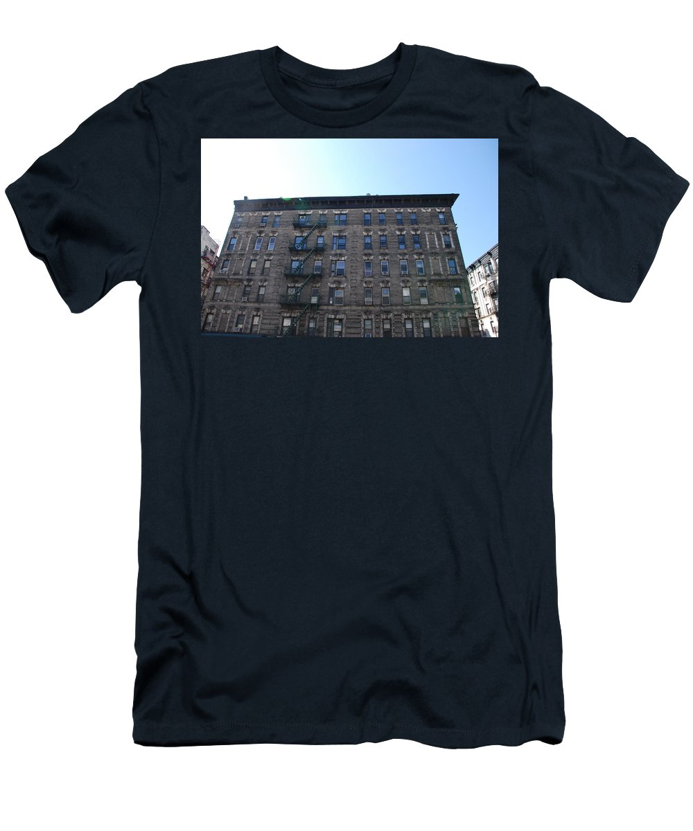 Architecture Men's T-Shirt (Athletic Fit) featuring the photograph Physical Graffitti by Rob Hans