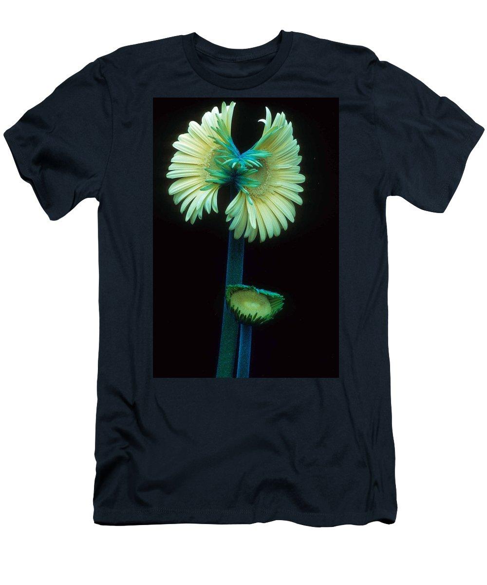 Gerber Men's T-Shirt (Athletic Fit) featuring the photograph Proud Gerber Parents by Laurie Paci