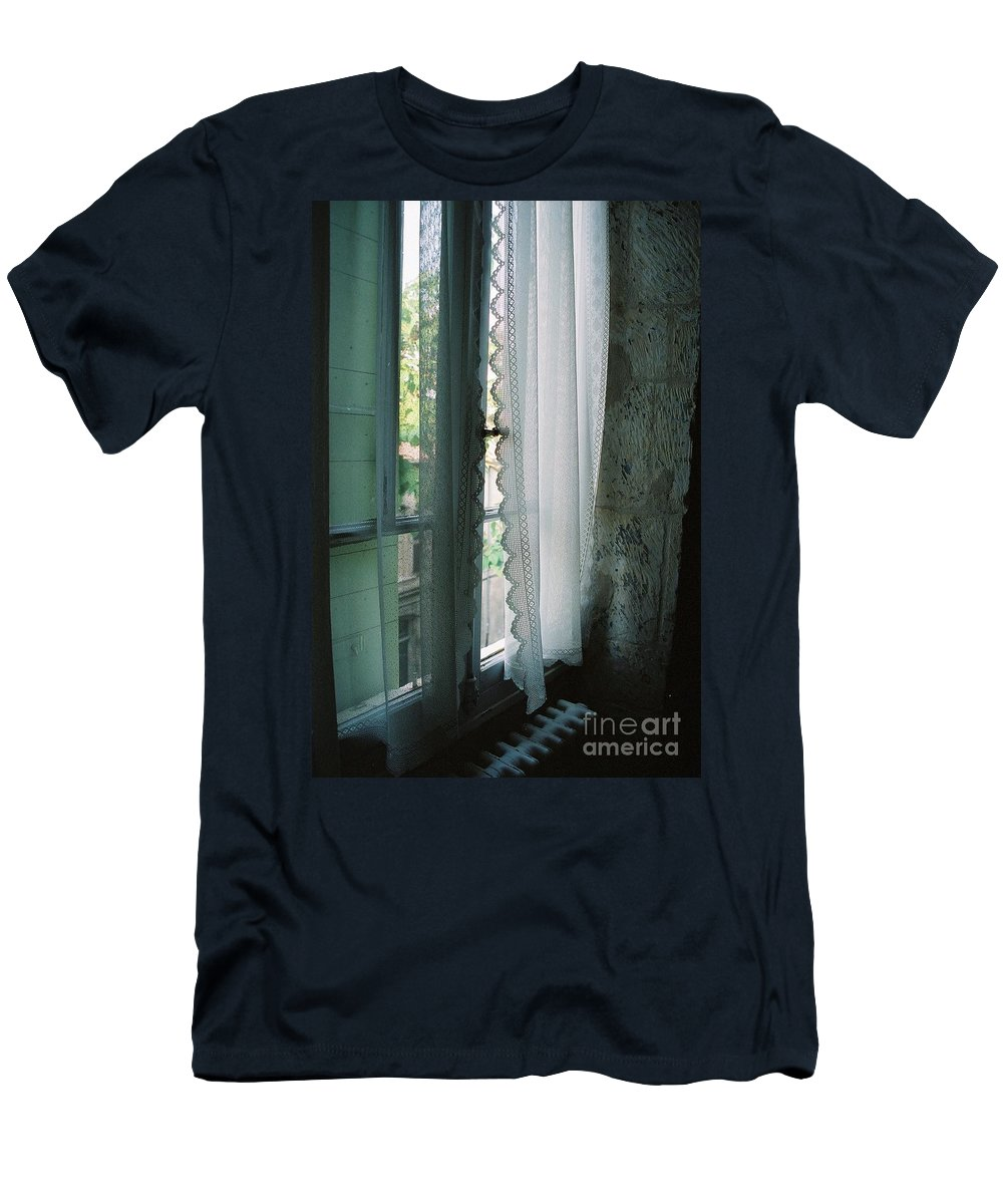 Arles Men's T-Shirt (Athletic Fit) featuring the photograph Rest by Nadine Rippelmeyer