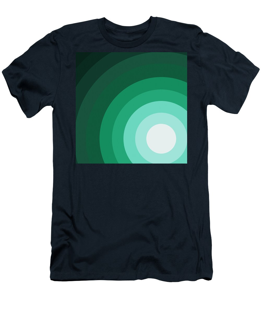 Surreal Men's T-Shirt (Athletic Fit) featuring the painting Rist Action by Oliver Johnston