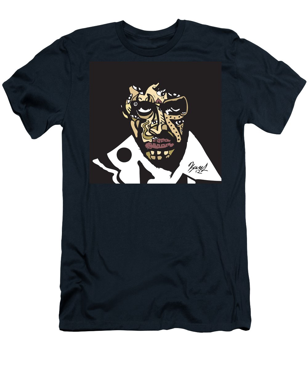 Scarface Men's T-Shirt (Athletic Fit) featuring the digital art Scarface by Kamoni Khem