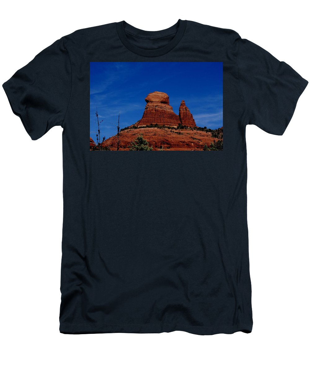 Schnebly Hill Men's T-Shirt (Athletic Fit) featuring the photograph Schnebly Hill Vortex by The Art With A Heart By Charlotte Phillips