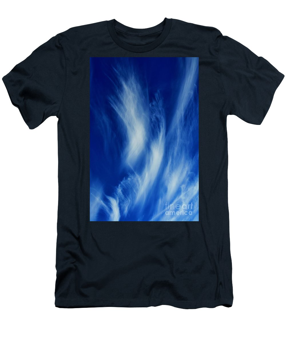 Clay Men's T-Shirt (Athletic Fit) featuring the photograph Sky Sculpting by Clayton Bruster